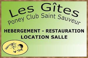 Les Gîtes Poney Club Saint Sauveur