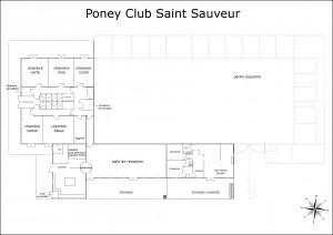 Plan du Club et du Club-house